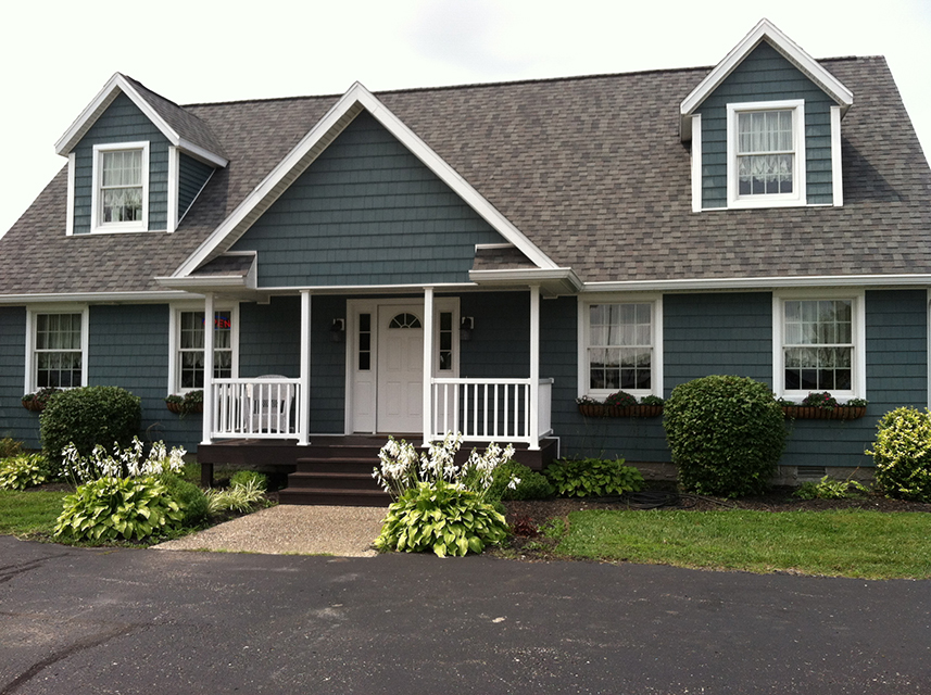Residential construction contractor quality homes of for Cape cod model homes